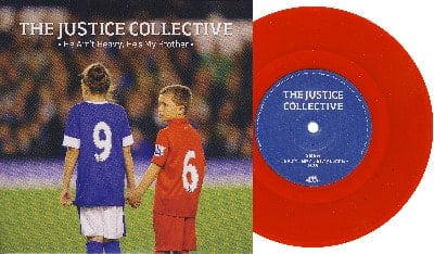 JUSTICE COLLECTIVE mit McCARTNEY: Single HE AIN'T HEAVY ...