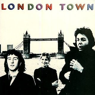 PAUL McCARTNEY & WINGS: Vinyl-LP LONDON TOWN