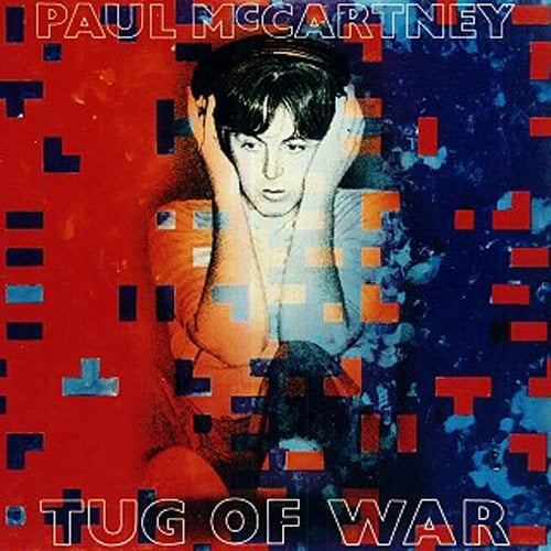 PAUL McCARTNEY: gebrauchte Vinyl-LP TUG OF WAR