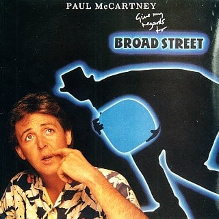 PAUL McCARTNEY: gebrauchte Vinyl-LP GIVE MY REGARDS TO BROAD STR