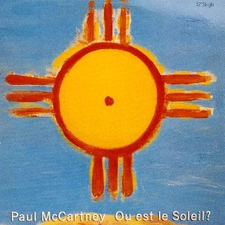PAUL McCARTNEY: Vinyl-Maxisingle OU EST LE SOLEIL?